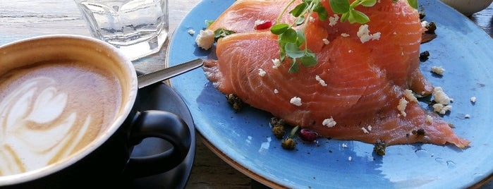 A Brewer's Tale Cafe is one of Brunch & Caw-fee.