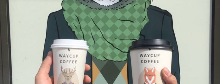 Way Cup Coffee is one of Наталья 님이 저장한 장소.