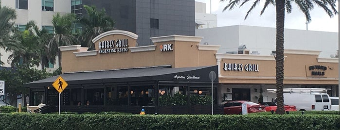 Baires Grill is one of Miami.