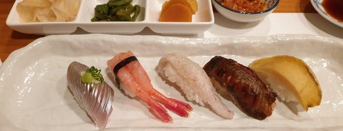 Sushi Hyo is one of yumyumyum.