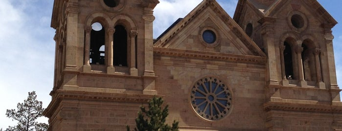 Cathedral Basilica of St Francis of Assisi is one of New Mexico.