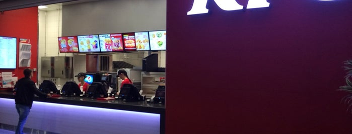 KFC is one of Lugares guardados de Катерина.