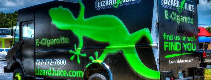 Lizard Juice Vape - Seminole is one of David'in Beğendiği Mekanlar.