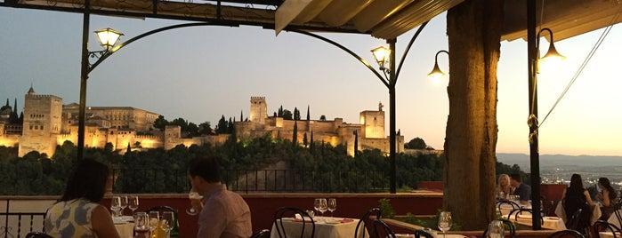Restaurante Carmen Mirador Aixa is one of Granada.