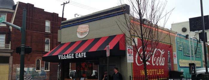 The Village Cafe is one of RVA VCU/Broad/Carver Restaurants.