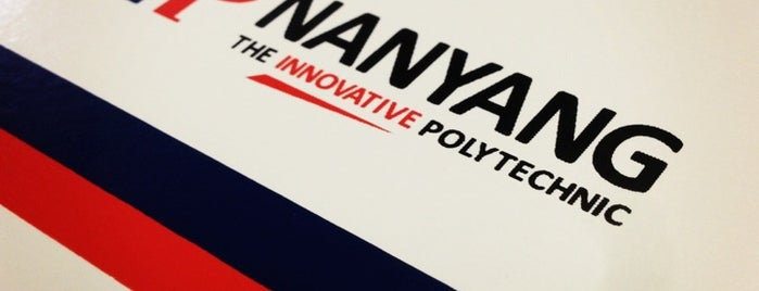 Nanyang Polytechnic (NYP) is one of สถานที่ที่ Mark ถูกใจ.