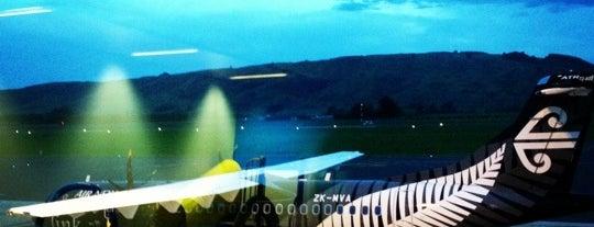 Dunedin International Airport (DUD) is one of Million Mile High.