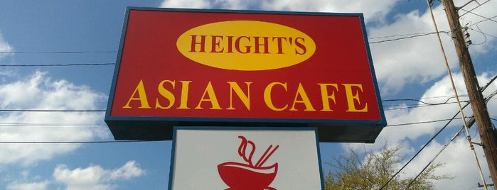 Height's Asian Cafe is one of Tempat yang Disukai Sonny.