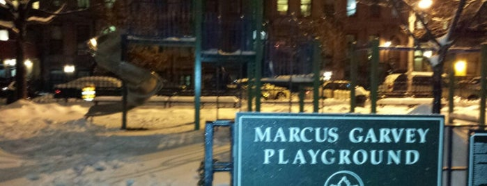 Marcus Garvey Playground is one of New York III.