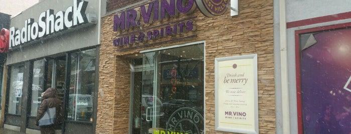 Mr. Vino Wine & Spirits is one of Tempat yang Disukai Matthew.
