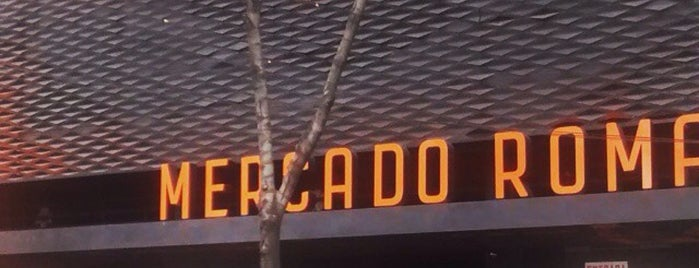 Mercado Roma is one of CDMX - Mexico City Food and Site Seeing.