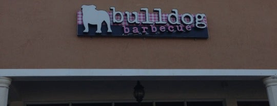 Bulldog Barbecue is one of Top Chef Competitors' Restaurants.