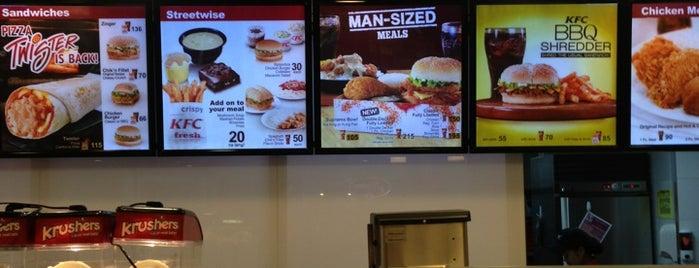 KFC is one of Shank 님이 좋아한 장소.