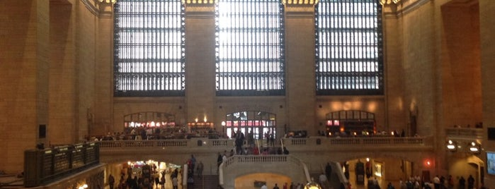 Grand Central Terminal is one of Affinia 50's Local Tips.