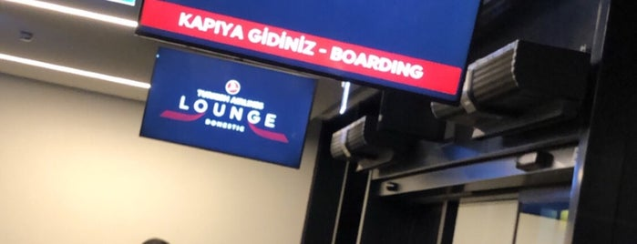 Turkish Airlines Domestic Lounge is one of Lugares favoritos de Girit.