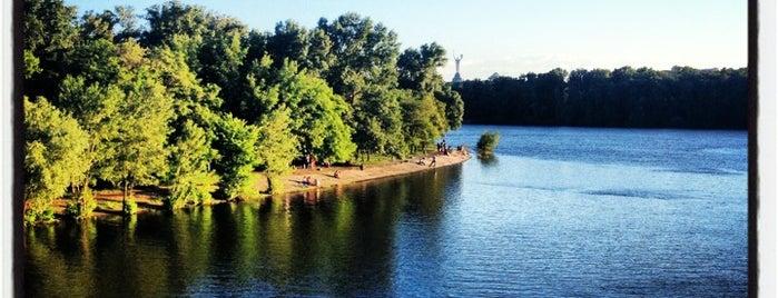 Русанівський парк is one of Niche : понравившиеся места.