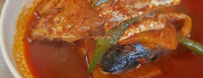 맛나식당 is one of 음식.