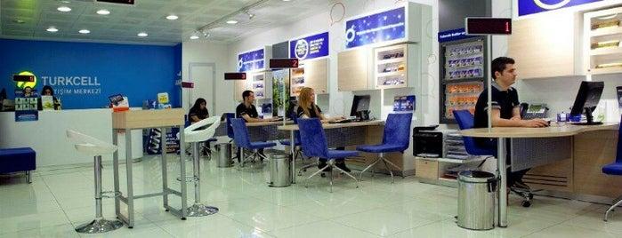 BOSİS Merkez | Turkcell İletişim Merkezi is one of AVM's.