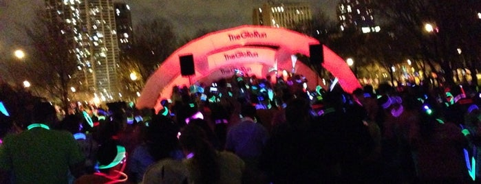 The Glo Run 5K is one of Marshaさんのお気に入りスポット.
