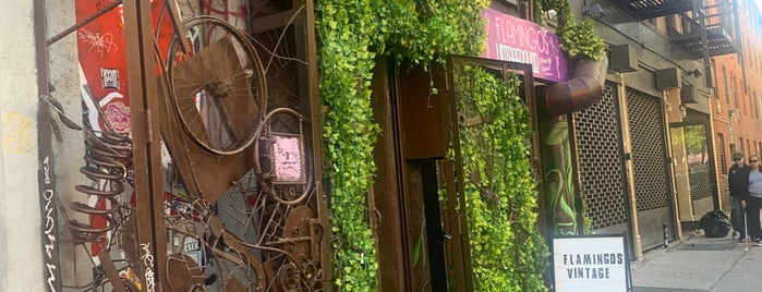 Flamingos Vintage Pound is one of New York.