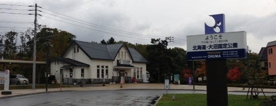 Ōnuma-Kōen Station is one of JR 홋카이도역 (JR 北海道地方の駅).
