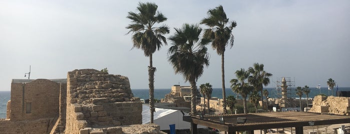 Caesarea is one of Holyland Tour.