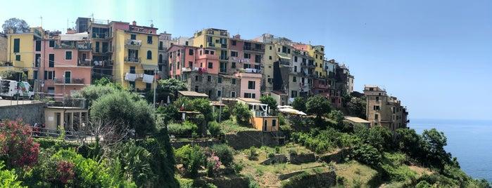 Corniglia is one of Italy.