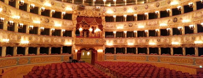Teatro La Fenice is one of Veneza.