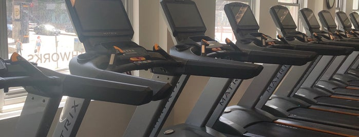 Healthworks Fitness Center is one of Boston.