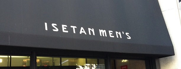 Isetan Men's is one of Lugares favoritos de Andrew.