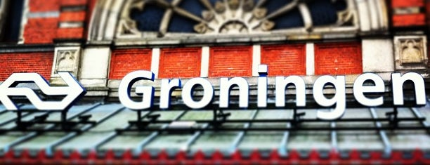Station Groningen is one of Locais curtidos por Stephraaa.