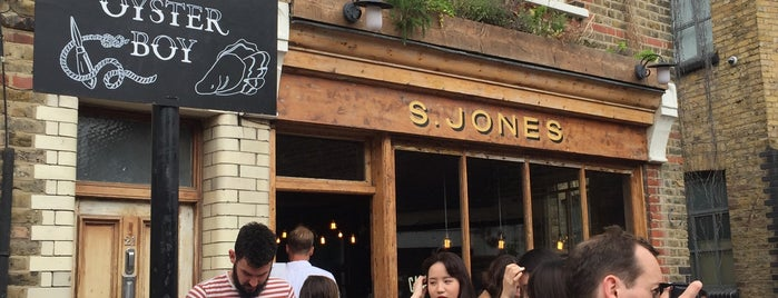 Jones Dairy Cafe is one of London.