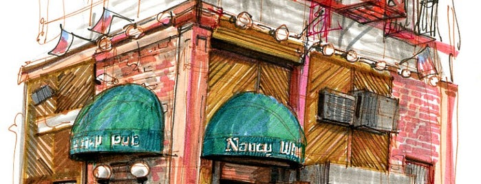 Nancy Whiskey Pub is one of Manhattan Bars.