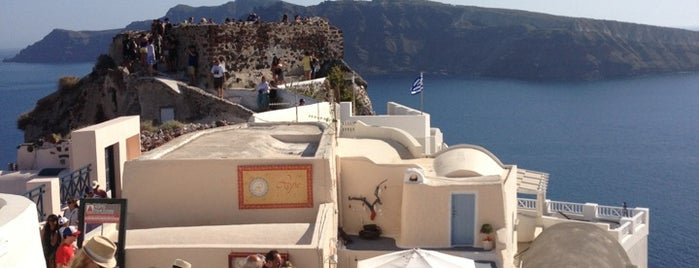 Kasteli of Oia is one of Santorini, Greece.