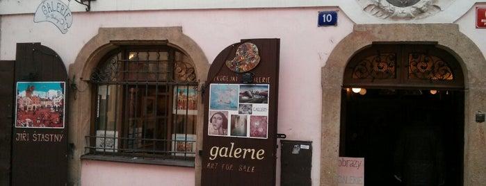 Galerie Jiří Šťastný is one of Prague.