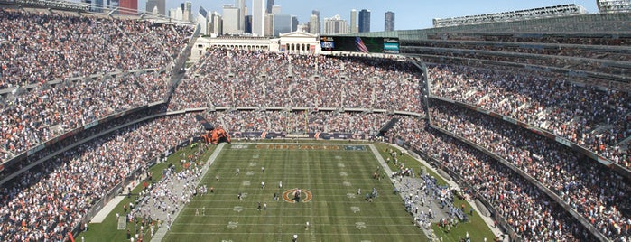 Soldier Field is one of Chicago.