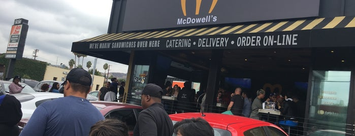 McDowell's Restaurant is one of Once a Californian, always a Californian!.