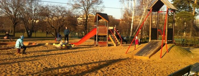 Dětské hřiště Letná is one of Prague for kids.