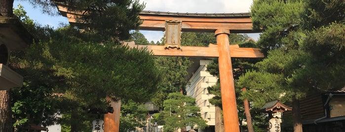 櫻山八幡宮 is one of Lieux qui ont plu à fou.