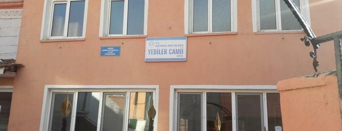 Yediler Camii is one of Kütahya | Spiritüel Merkezler.