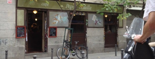 Café Pepe Botella is one of Madrid.