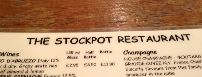 Stockpot is one of Londres.