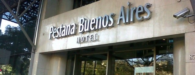 Pestana Hotels & Resorts - Buenos Aires is one of Pestana Hotels & Resorts.