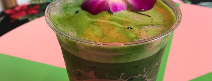 Cha Cha Matcha is one of Foursquare Flatiron - Coffee.