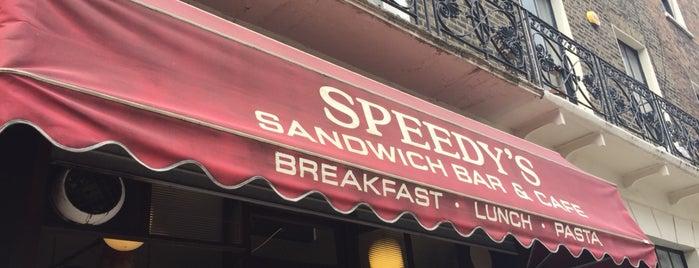 Speedy's Cafe is one of Tempat yang Disukai S.