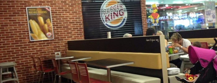 Burger King is one of Restaurantes que admiten cheques Gourmet.