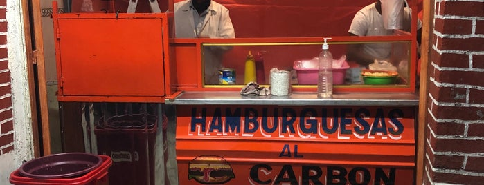 Hamburguesas Al Carbon is one of El barrio.