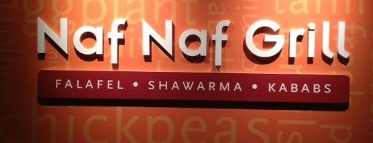 Naf Naf Grill is one of Dives Near Work.