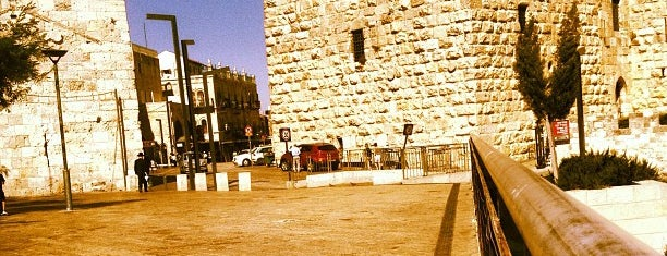 Jaffa Gate is one of Jerusalim.