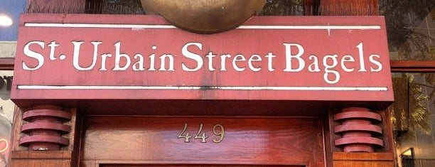 St. Urbain Street Bagels is one of Locais salvos de Cole.